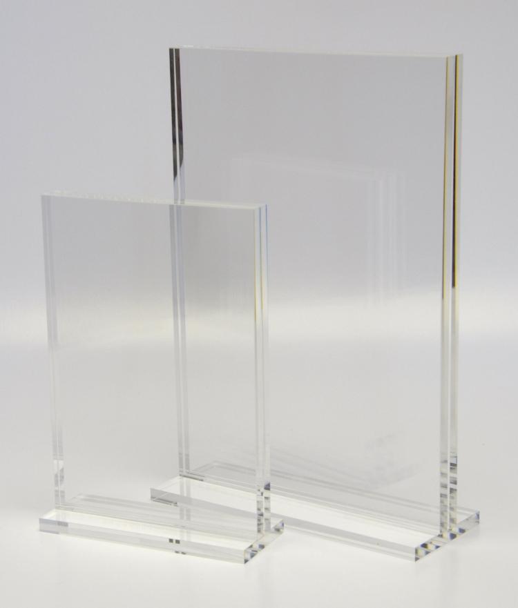 Chunky 10mm Acrylic Menu Holder Menu Holders Acrylic